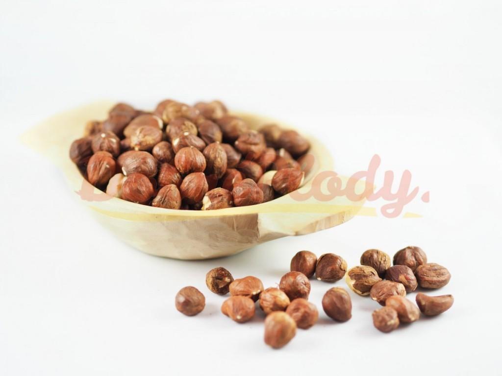 RAW Lískové ořechy jádra